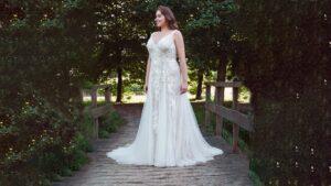 Plussize bruidsjurken voor cruvy brides